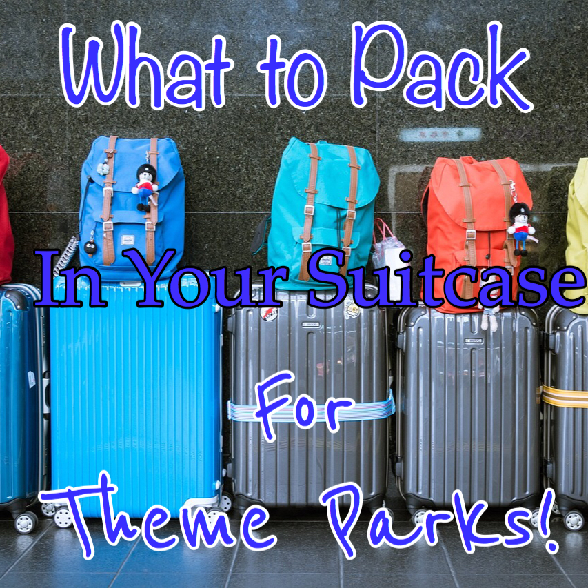 theme park checklist. What to pack for Disney World.