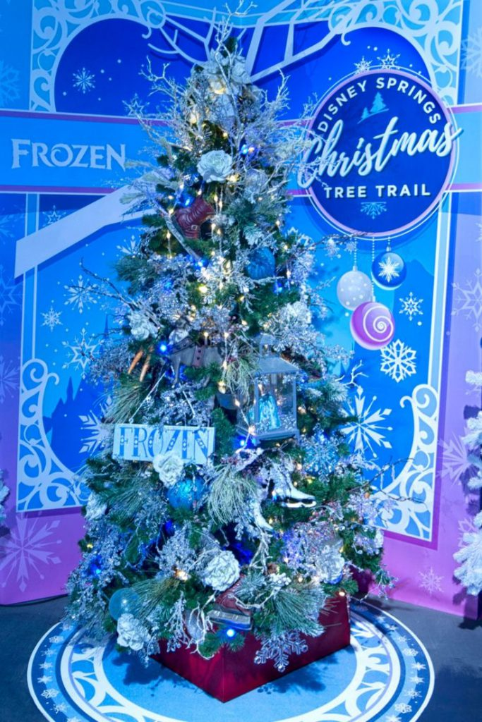 The Disney Tree Trail Captures the Spirit of Christmas at Disney Springs