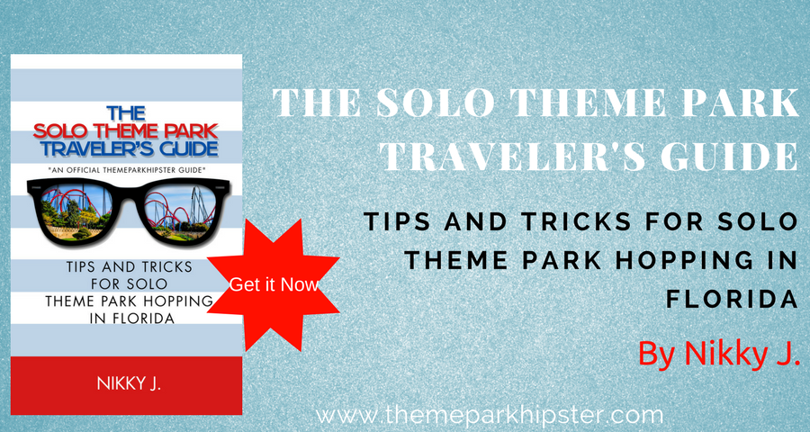 Use this Solo Theme Park Traveler Book to learn how to go to theme parks alone.