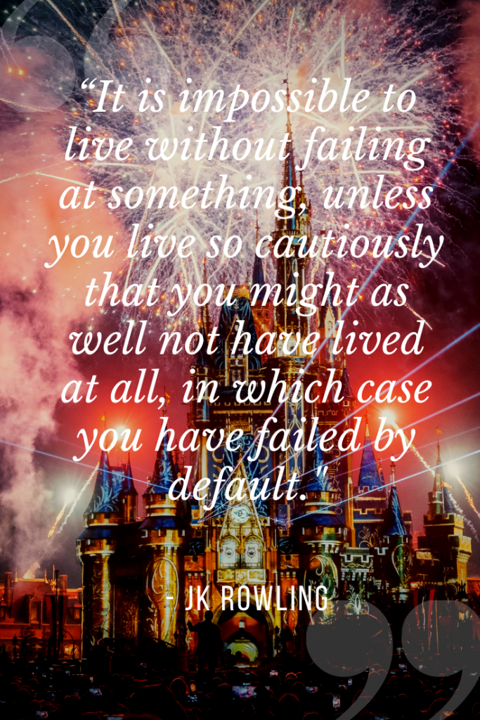 Solo Travel Quotes from JK Rowling Traveling Alone to Disney