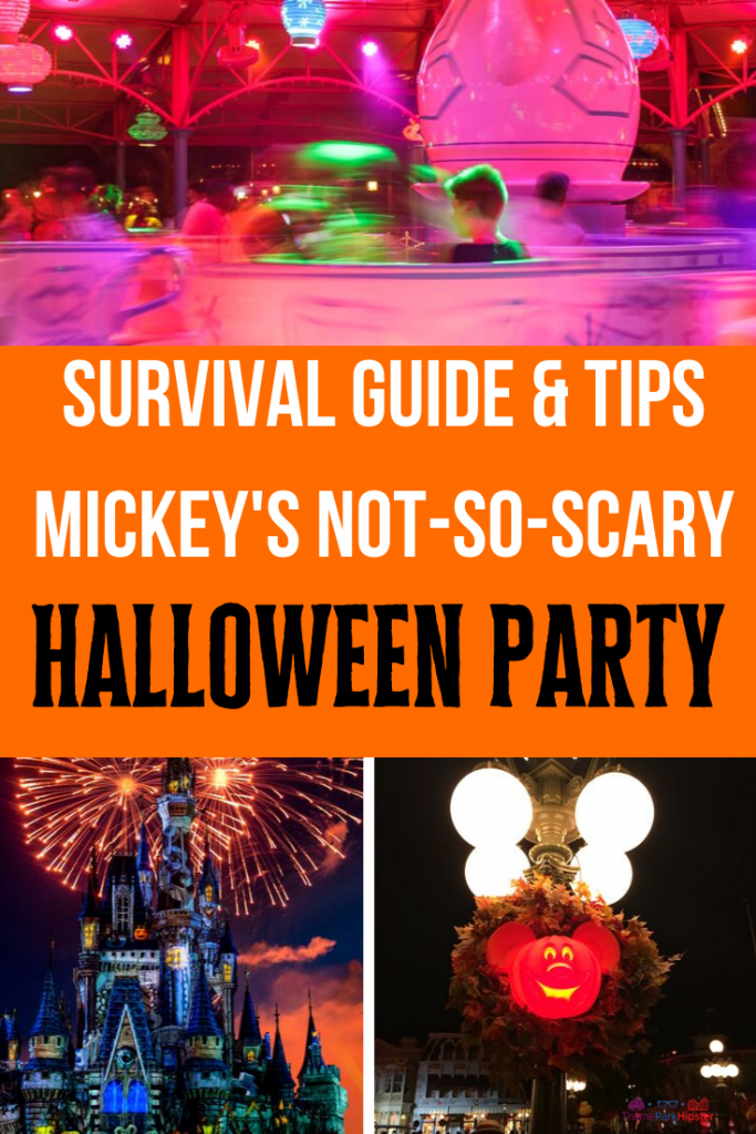Mickeys Not So Scary Halloween Party Tickets