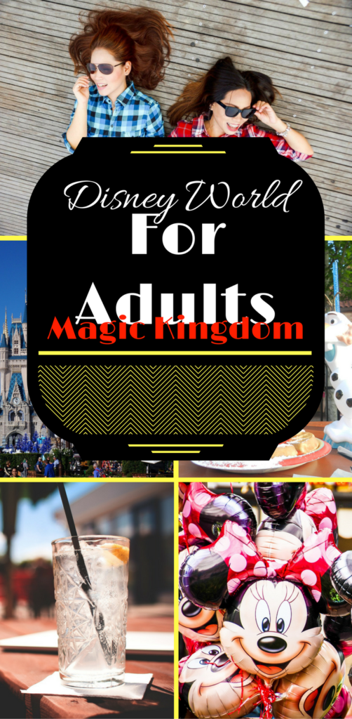 Walt Disney World for Adults with minnie mouse baloons