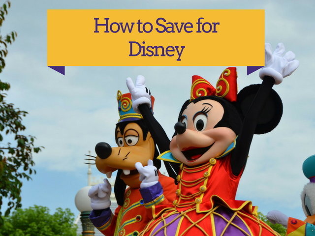 Saving for Disney