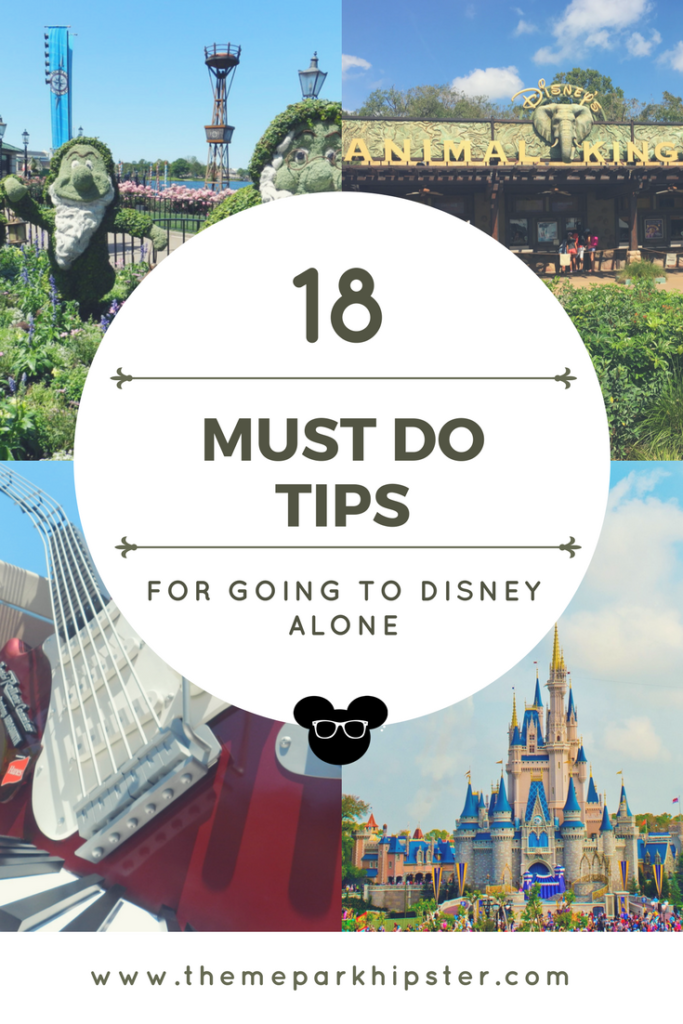 18 Can't Do Tips for Solo Disney Trip epcot and animal kingdom gates in the midst of vegetation