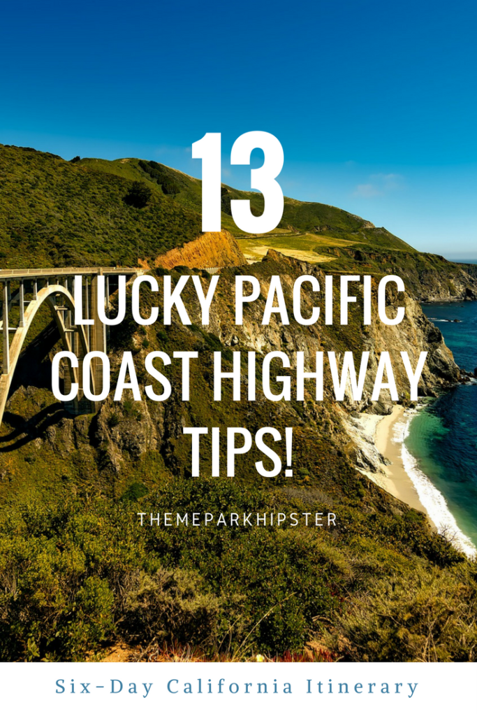 Pacific Coast Highway Tips