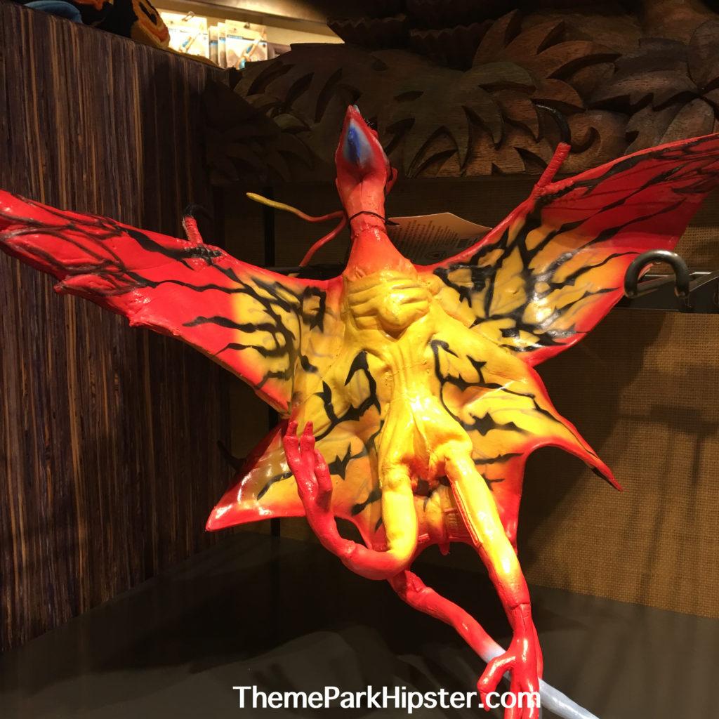 Pandora Banshee at Windtraders in Avatar World at Animal Kingdom