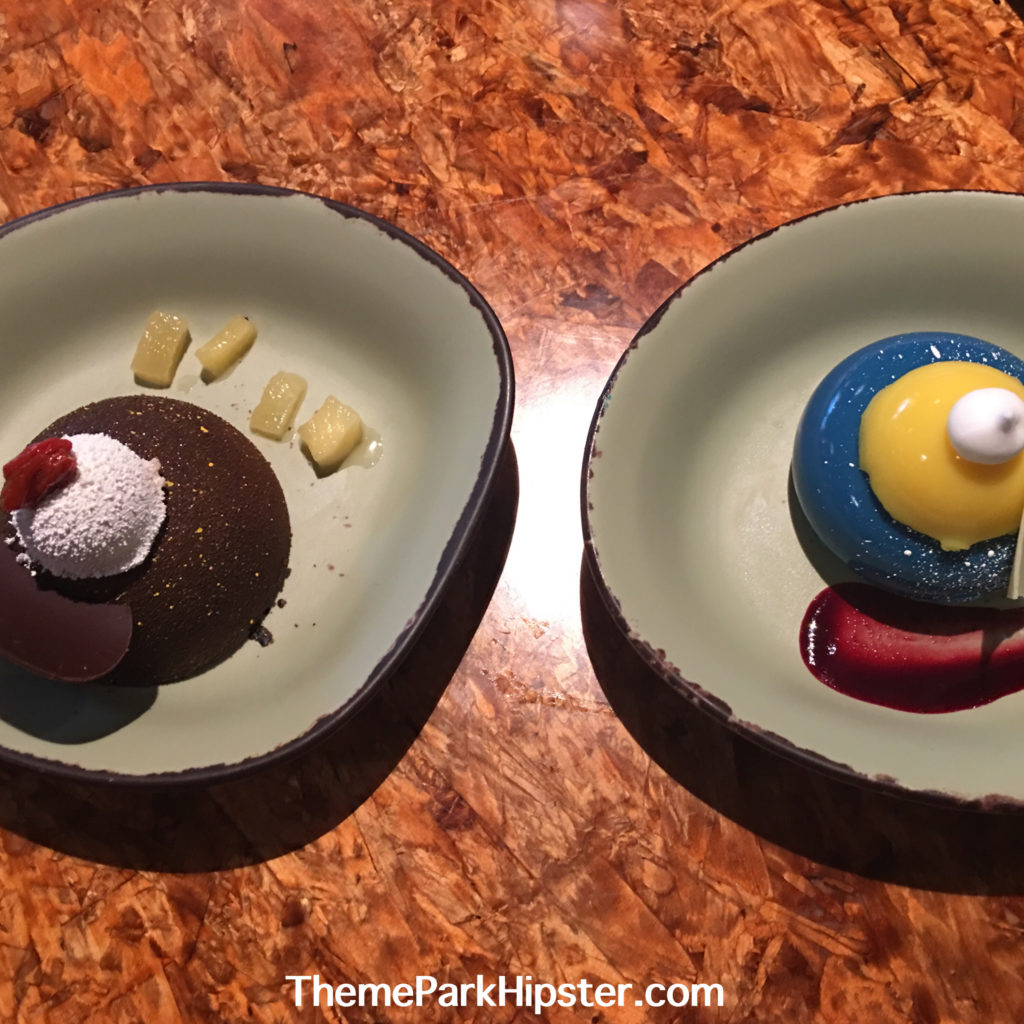 Pandora Desserts that you can use Disney World Mobile Order Service at Animal Kingdom.