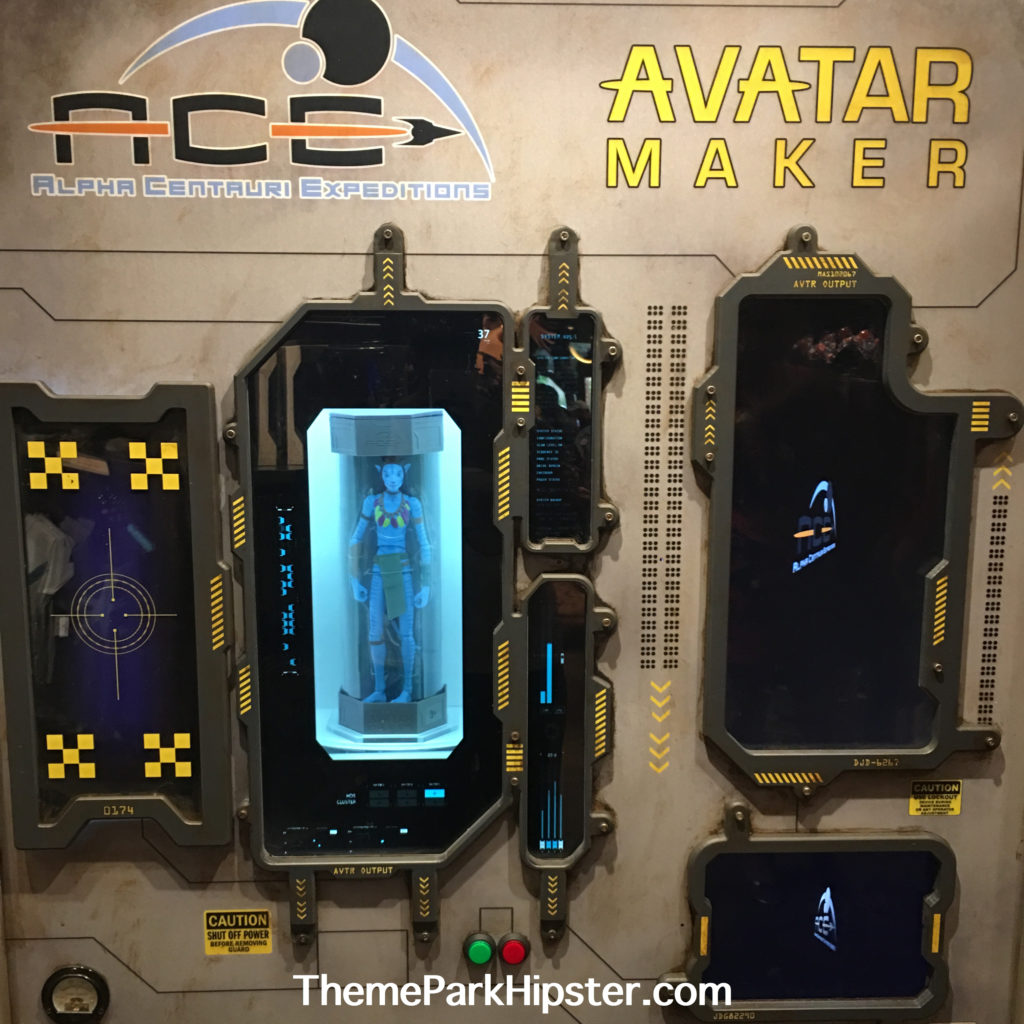 Avatar Merchandise at Windtraders where create your own miniature Avatar blue doll.
