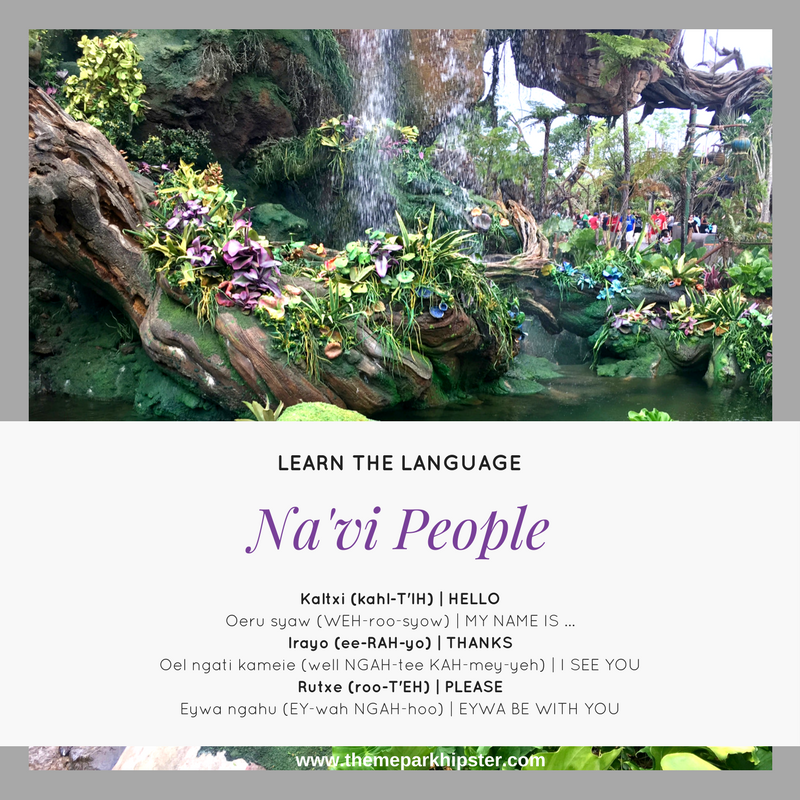 Avatar 2 Travel To Pandora: Pandora Avatar Navi Language