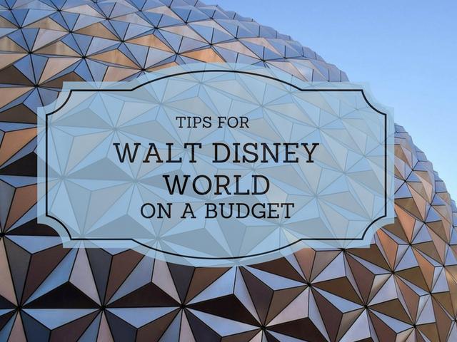 Walt Disney World on a Budget.