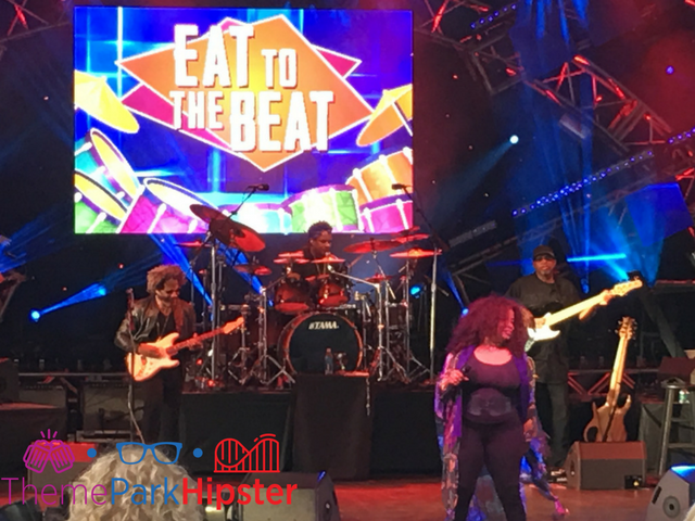 Epcot Food and Wine Festival Eat to the Beat Concert Dates now available. with Chaka Khan in the photo.