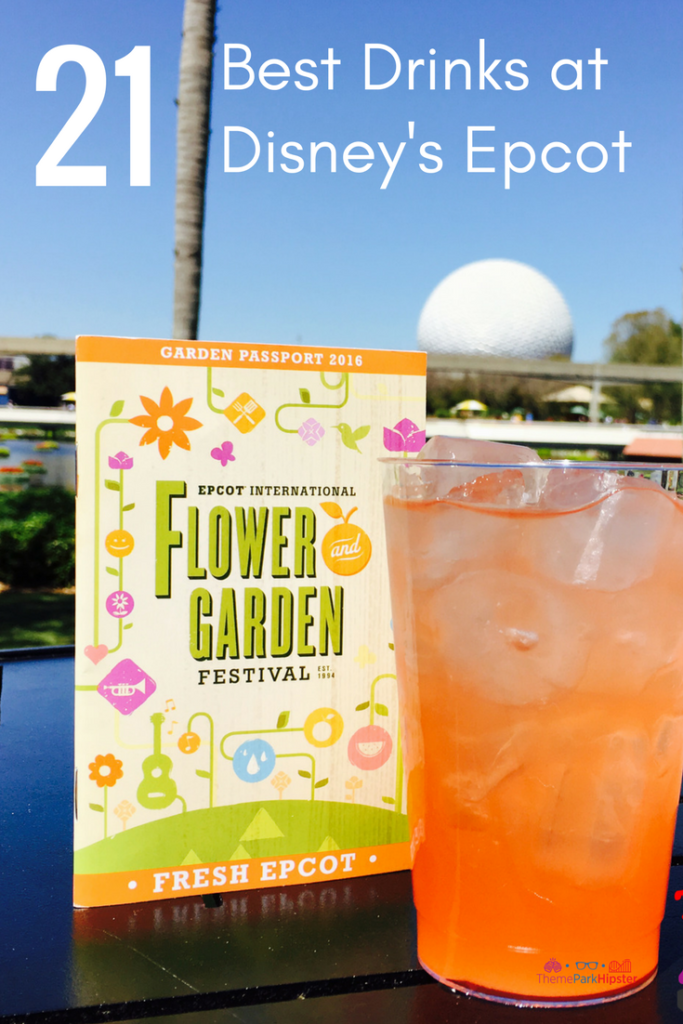 Best drinks at Epcot. Delicious watermelon margarita at Disney's Epcot. #disneytips