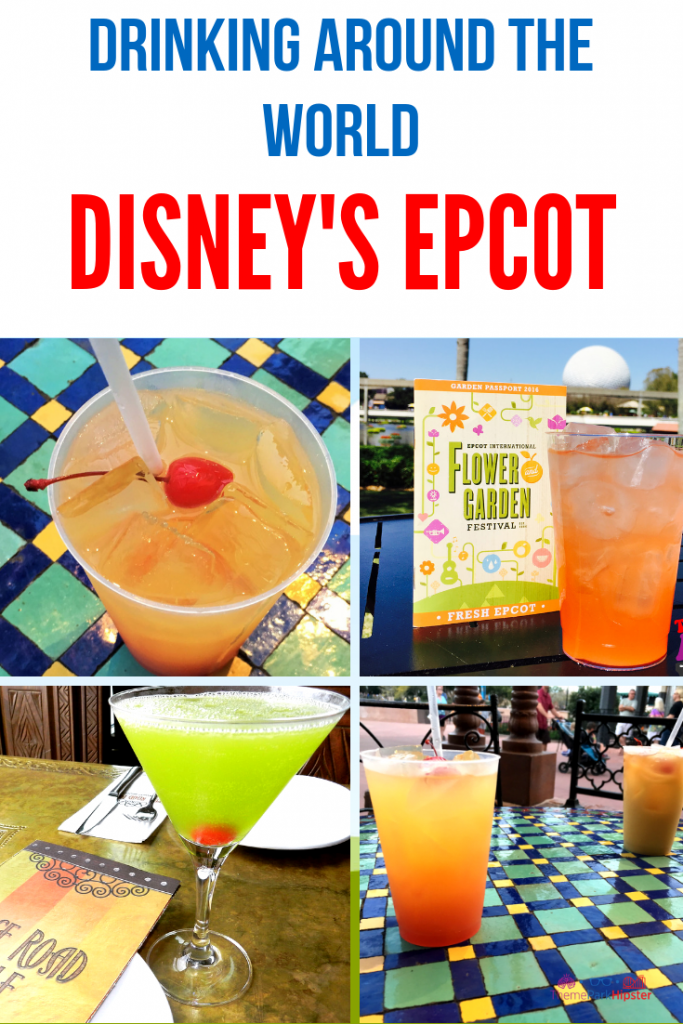 Drinking Around the World Disney Epcot