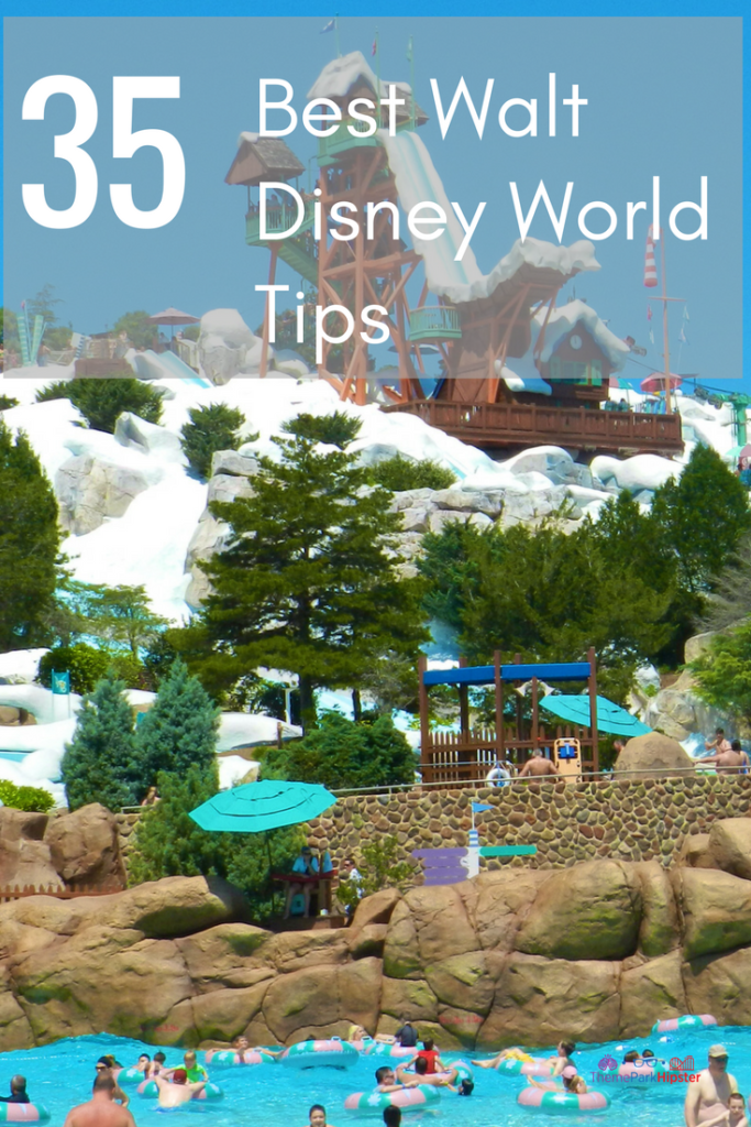 Discover the best Walt Disney World tips. Blizzard Beach snowing water slides.