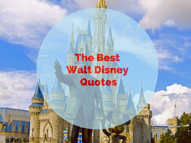 Walt Disney best quote
