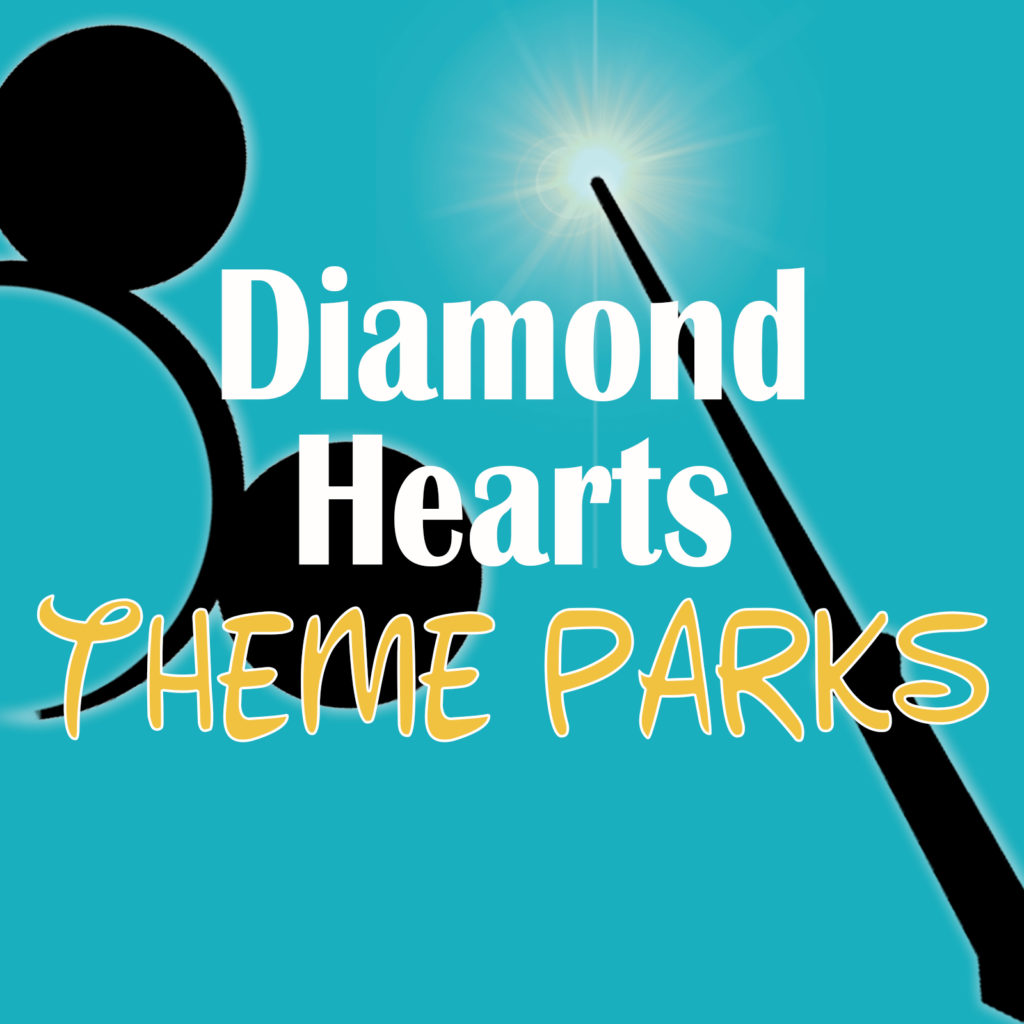 Diamond Hearts Theme Parks Logo