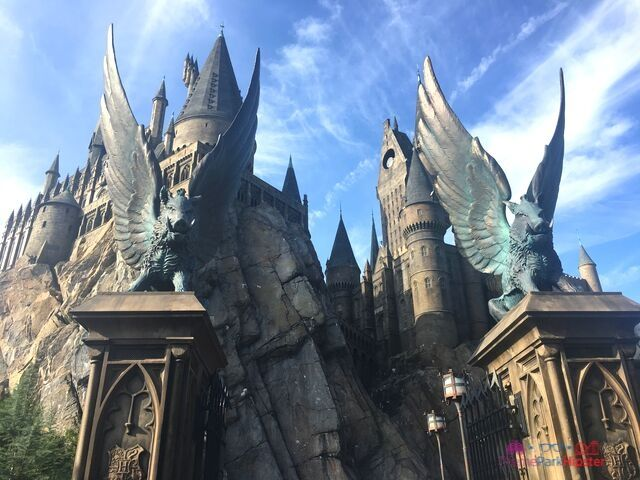 Hogsmeade at Universal Hogwarts Castle Harry Potter and the Forbidden Journey