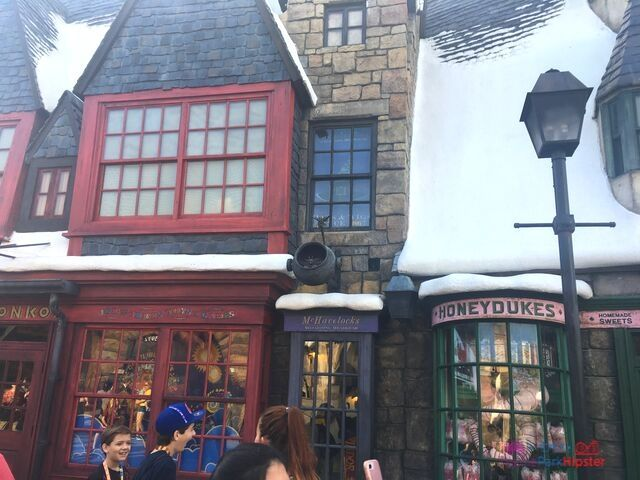 Hogsmeade at Universal Zonko and Honey Dukes Candy Shop