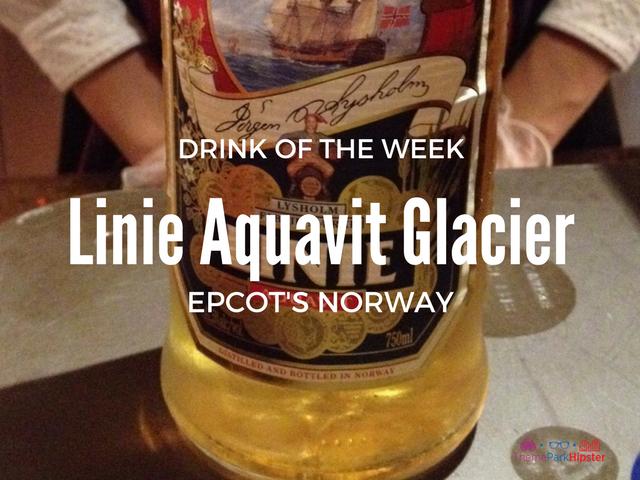 Linie Aquavit Glacier Epcot