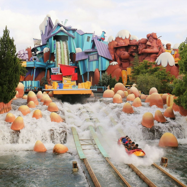 Dudley Do-Right's Ripsaw Falls Water Falls Islands of Adventure Itinerary