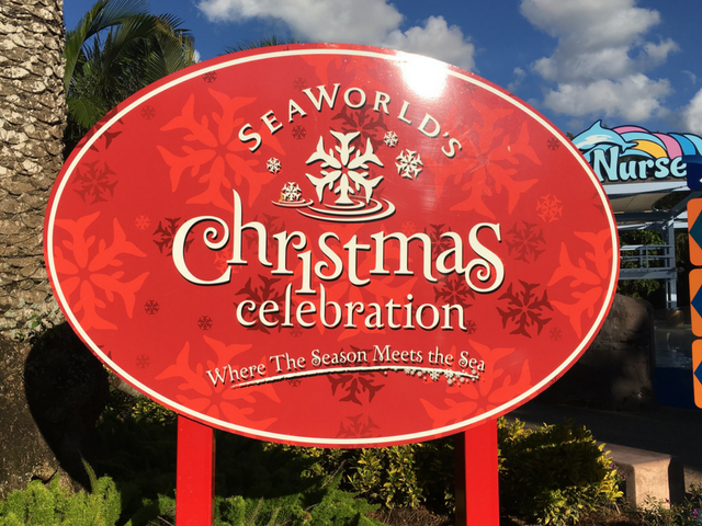 christmas at seaworld