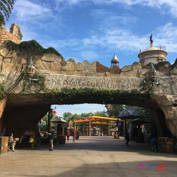 Port of Entry Islands of Adventure. #UniversalOrlando #Islands of Adventure Itinerary #ThemePark