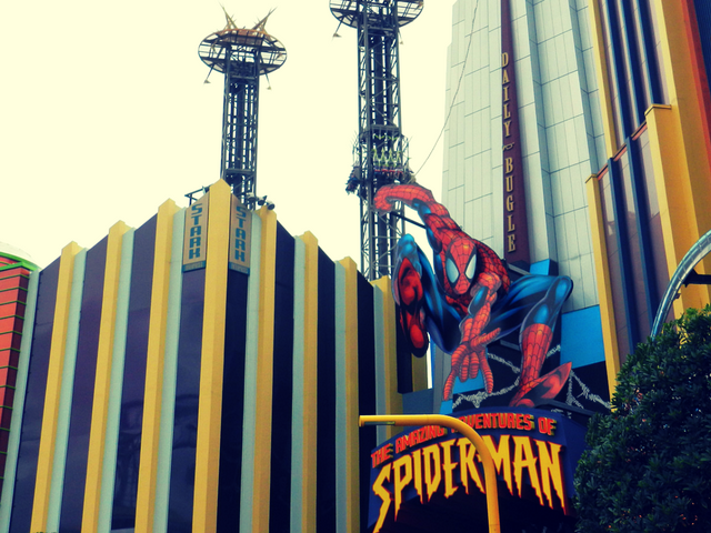 spiderman at islands of adventure