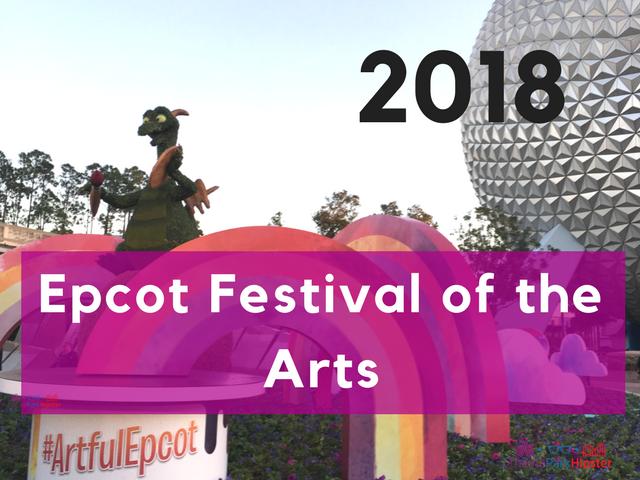 2018 epcot festival of the arts tour
