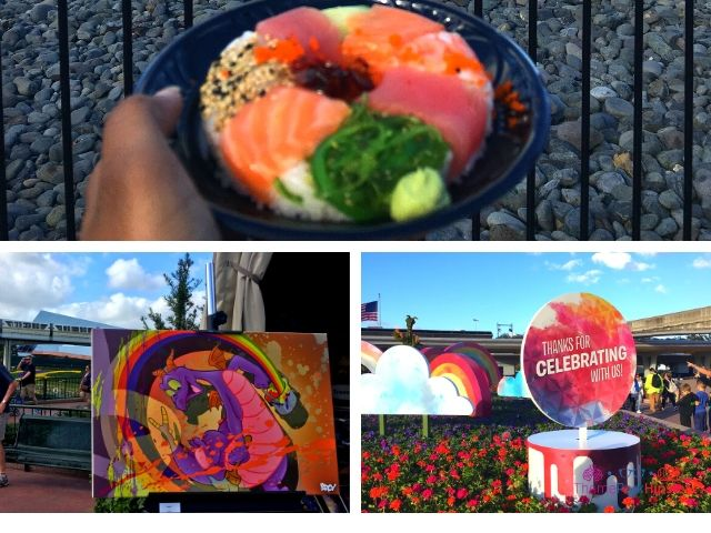 What is the Epcot Festival of Arts. Sushi Donut at Epcot Japan Pavilion.