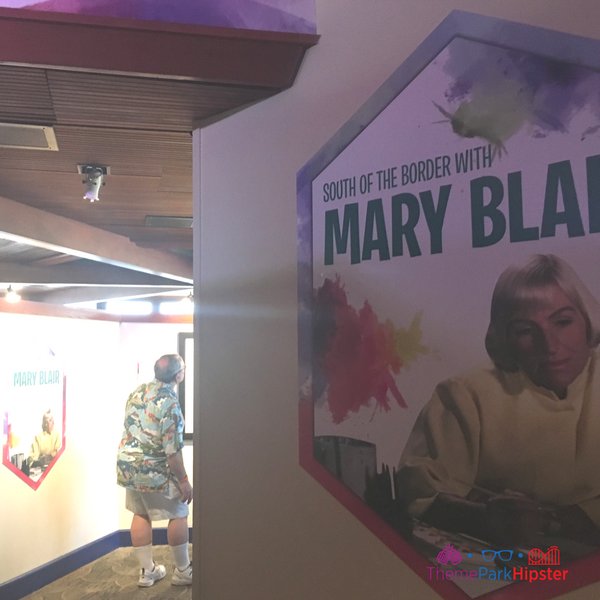 Festival of the Arts Mary Blair Display #disney #epcot #epcotfestivals