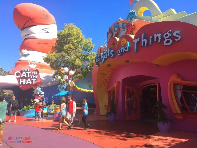 Islands of Adventure Itinerary Cat in the Hat Ride