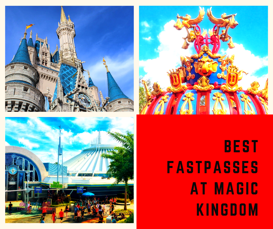 Best rides to use FastPass for with Cinderella Castle.