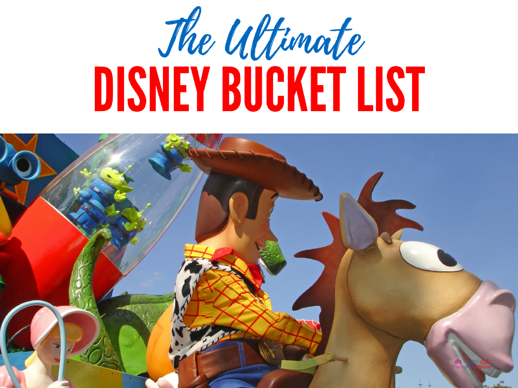 The ultimate walt disney world bucket list