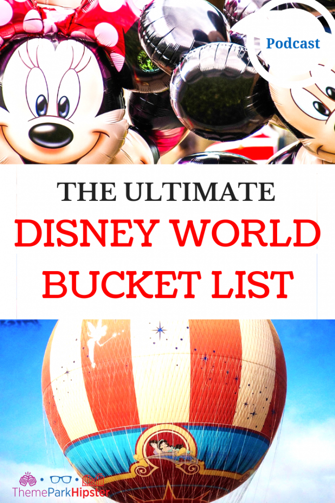 BEST DISNEY BUCKET LIST with Mickey Mouse and Minnie Mouse