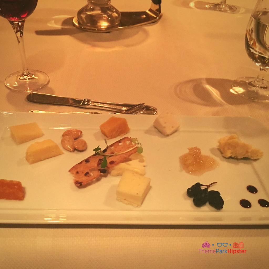 Cheese course Disney Grand Floridian Resort