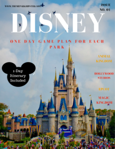 Disney one-day game plan itinerary