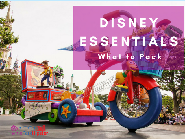 What to pack for disney