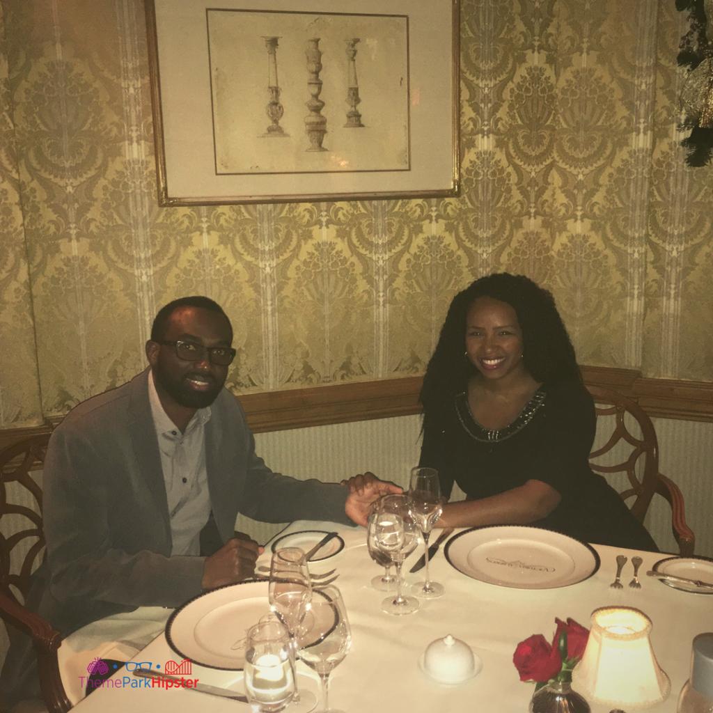 Date night at Victoria & Albert's