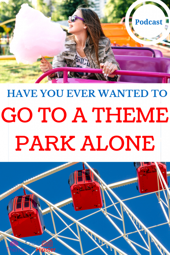 Go to a Theme Park Alone