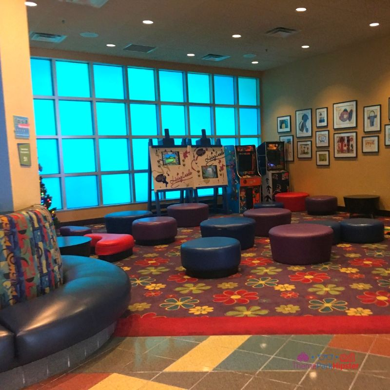 Pop Century Resort Lobby