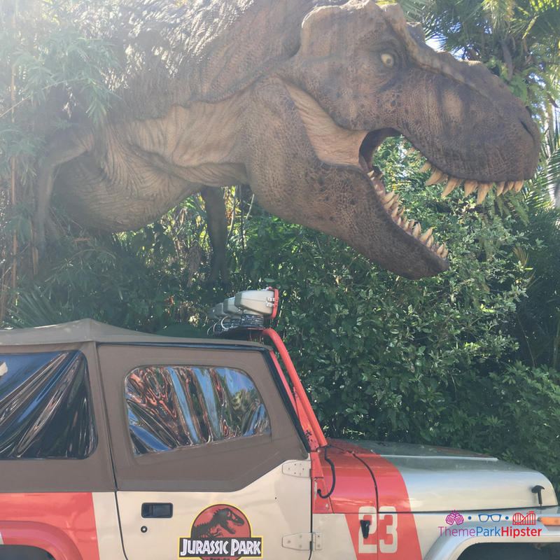 T-Rex in Jurassic Park Islands of Adventure