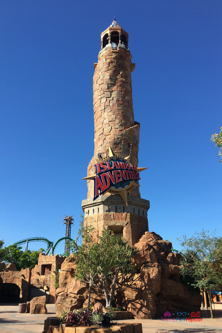 The Pharos Lighthouse islands of adventure #UniversalOrlando #ThemePark #IslandsofAdventure