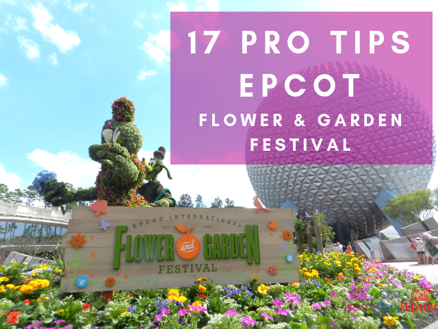Top tips for EPCOT flower and garden festival