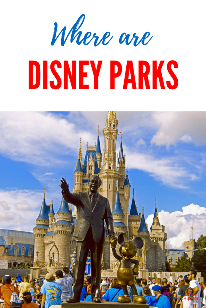 Disney parks locations around the world