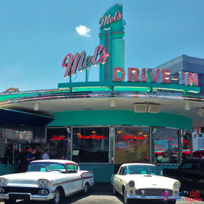 mels drive in universal studios photo spot in florida