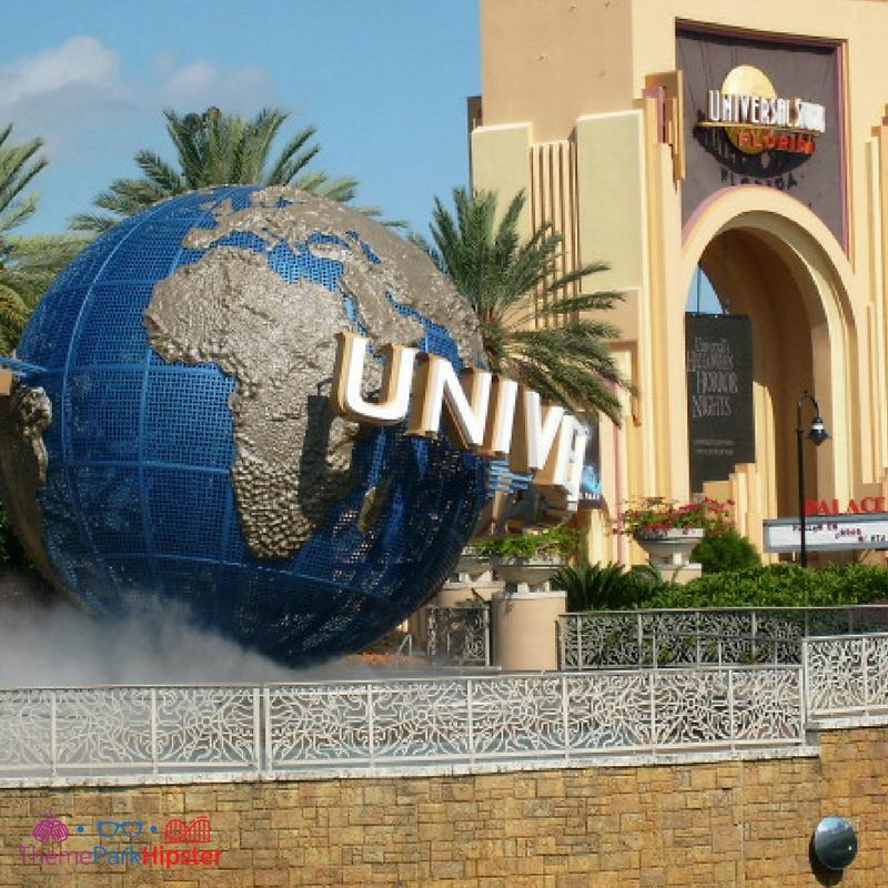 universal studios florida globe