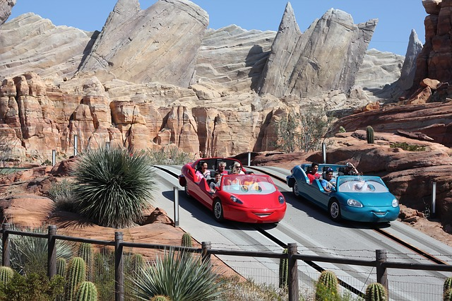 Disney California Adventure Carsland Where are Disney Parks Located