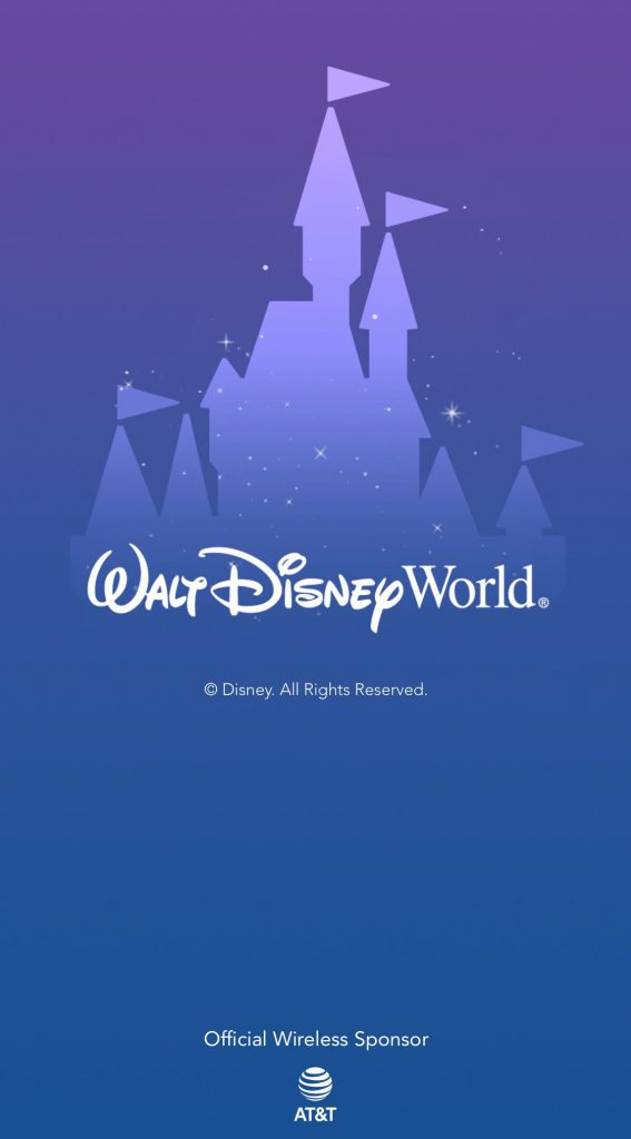 Disney World Mobile Ordering Step on My Disney Experience App