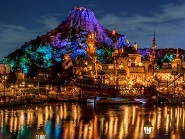DisneySea Tokyo Where are Disney Parks Located
