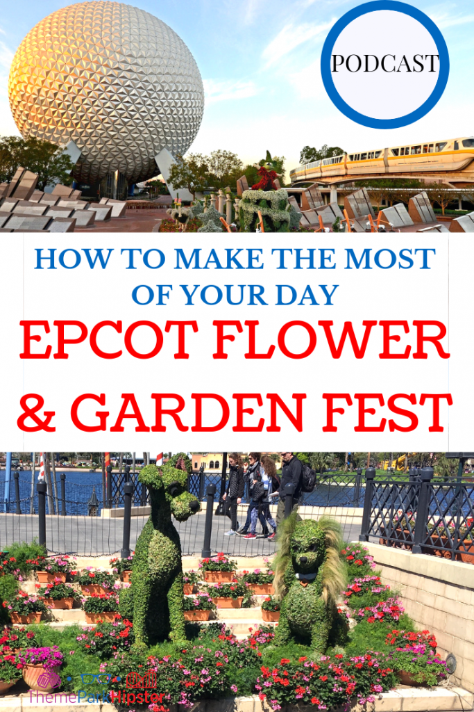 Epcot Flower and Garden Festival Tips
